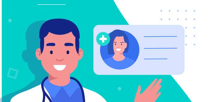 Arzt mit E-Karte (Foto: Pixabay.com)
