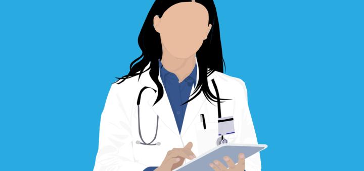 Ärztin mit Tablet (Foto: Pixabay.com)
