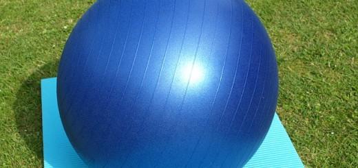 Gymnastikball, Krankengymnastik, Physiotherapie