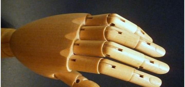 Gelenke der Finger