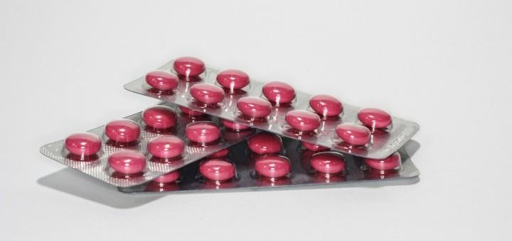 Rote Tabletten