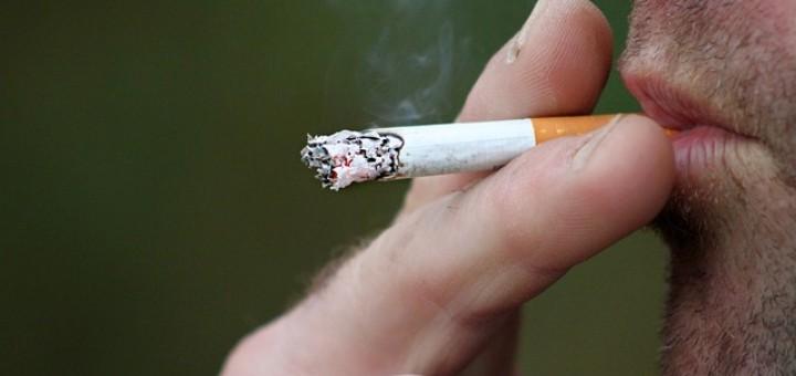 Zigarette, Raucher, Hand