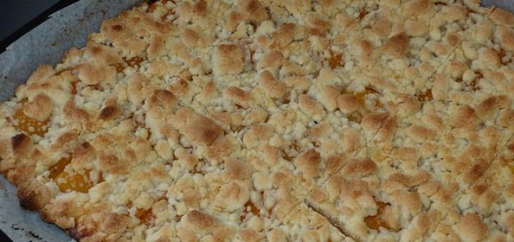 Steuselkuchen, Kuchenblech